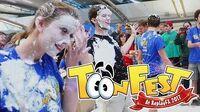 The Biggest Toontown Pie Toss EVER! ToonFest 2017