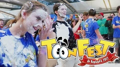 The Biggest Toontown Pie Toss EVER! ToonFest 2017