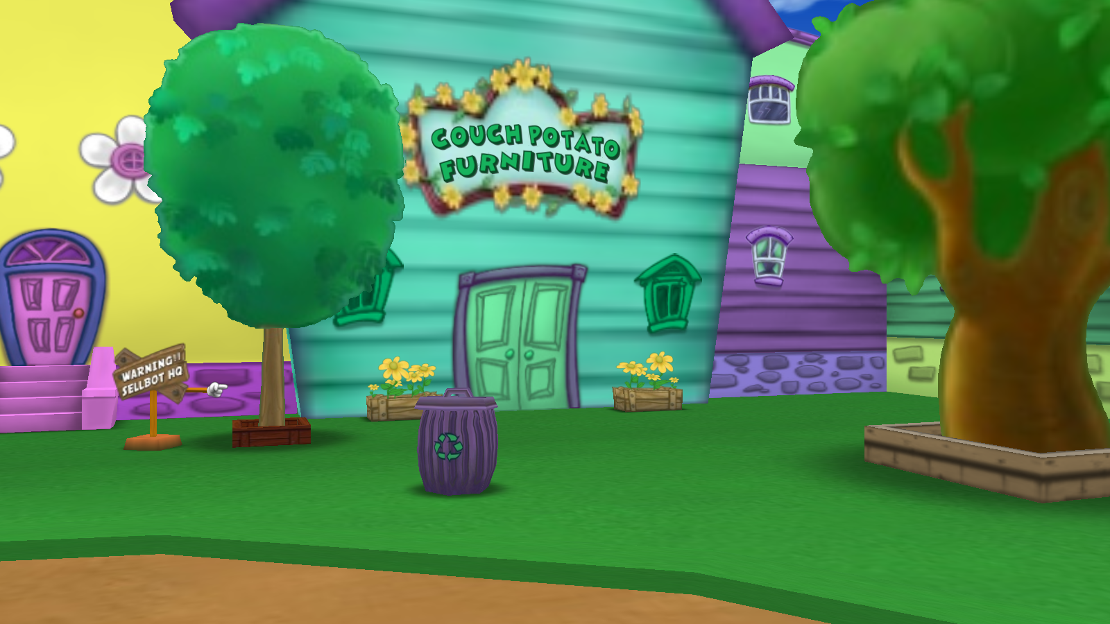 Couch Potato Furniture | Toontown Rewritten Wiki | FANDOM powered by Wikia