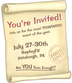 ReplayFX invitation