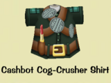 Cashbot Cog-Crusher Shirt