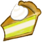 Cream Pie Slice Icon