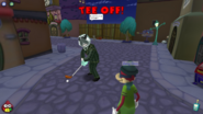 Tee Off Robber Baron