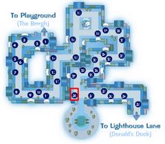 The Blizzard Wizard Location