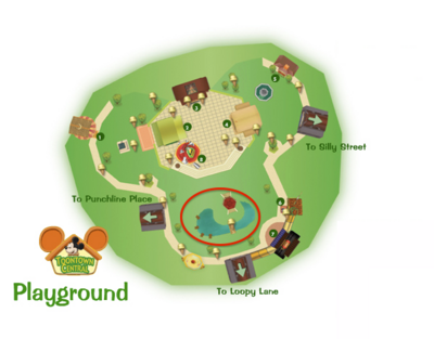 Toontown Central Pond Location