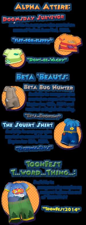 Tf shirt-codes