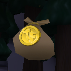 A token bag after its texture was fixed from ToonFest 2016.