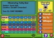 Hibearnating Teddy Bear