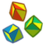 Juggling Cubes Icon