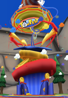 New ToonFest Tower