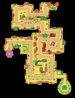 Street Map Silly Street