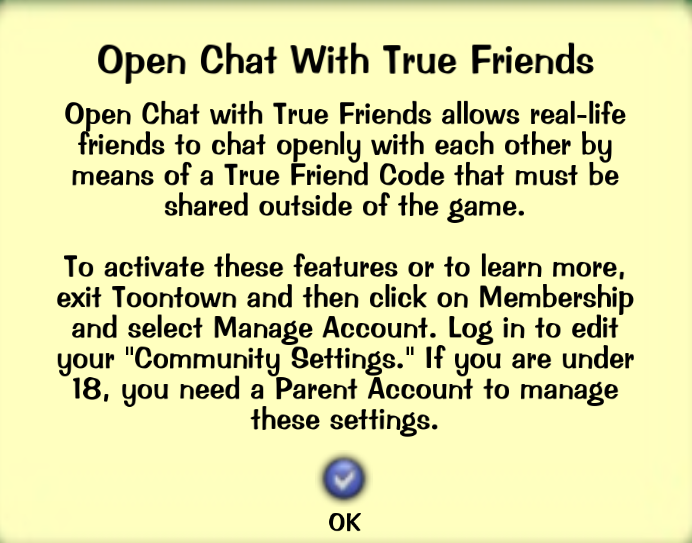 True Friend Toontown Rewritten Wiki Fandom Powered By Wikia