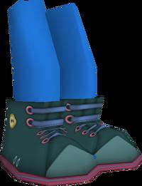 Green Winter Boots