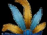 Fancy Blue Mask