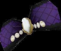 Purple Fancy Hair Bow
