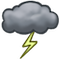 Storm Cloud Icon