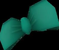 Teal Hair Bow