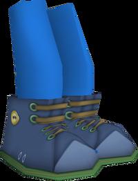 Blue Winter Boots