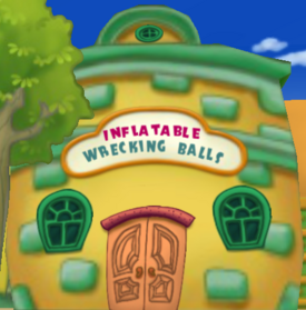 Inflatable Wrecking Balls