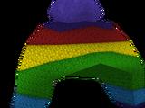 Rainbow Warmer Winter Hat
