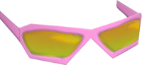 Pink Narrow Glasses