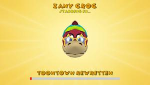 Zany Croc Starring in