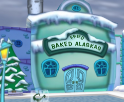 Fried Baked Alaskas