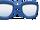 Dark Blue Glasses