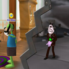 Telemarketers invade Toontown with a Mega-Invasion.