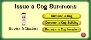 Cog Summon