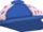 Blue Brimmed Hat
