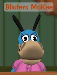 Blisters McKee