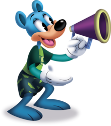 Kong megaphone
