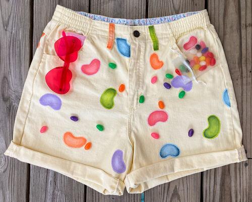 Julia's Jellybean Shorts