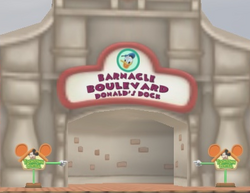 Barnacle Boulevard tunnel