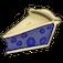 Fruit Pie Slice Icon