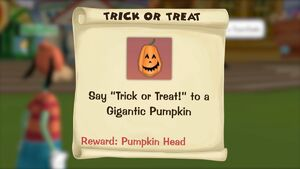 Trick or Treat ToonTask