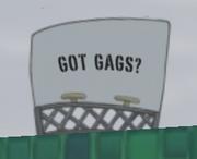 Got Gags billboard