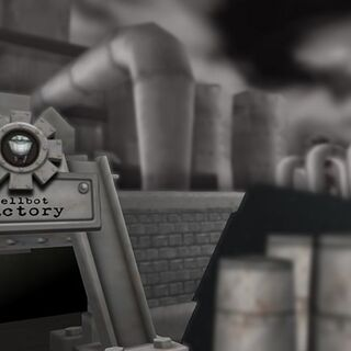 The entrance to Sellbot Factory.