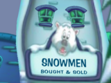 Snowmen Bought & Sold