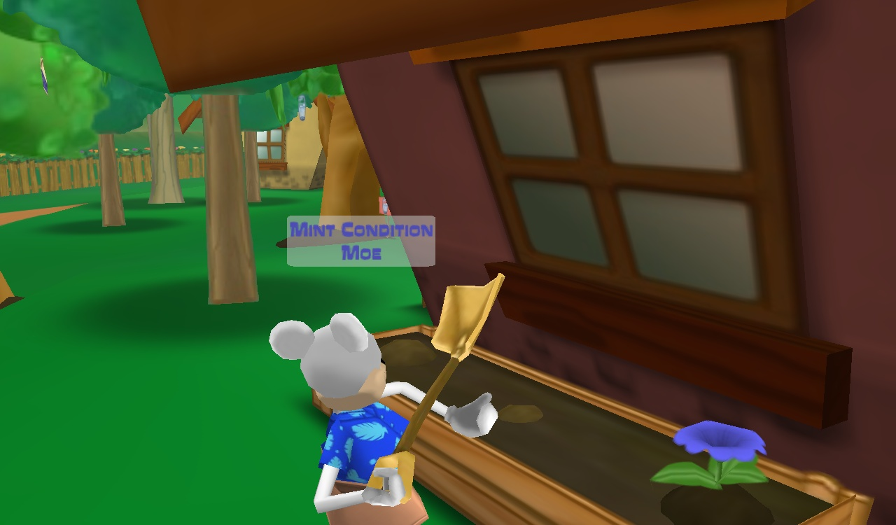 Image - Polar Bear with a Gold Shovel and a red house.jpg | Toontown ...