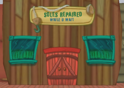 Sole Repaired While U Wait