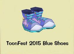 ToonFest 2015 Blue Shoes 1