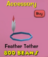 Ttr-hat-feather-tether