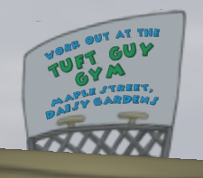 Tuft Guy Gym adv