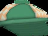 Green Brimmed Hat