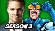 Arrow Season 3 Harley Quinn and Blue Beetle Explained