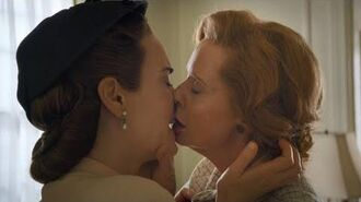 Ratched Kiss Scene — Mildred and Gwendolyn (Sarah Paulson and Cynthia Nixon)