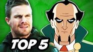 Arrow Season 3 Episode 15 - TOP 5 WTF and Batman Explained