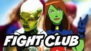 Supergirl Season 2 Fight Club and Miss Martian vs Young Justice